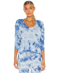 Enza Costa トップ In Blue. Size S,m,l. - ブルー