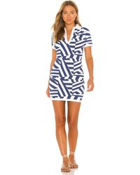 Solid & Striped Farrah ドレス - ブルー