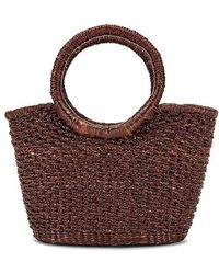 Sensi Studio Mini Mini Canasta Handbag - Brown