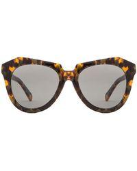 c7785e64b6cd Lyst - Karen Walker  one Astronaut  Sunglasses