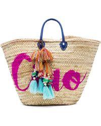 MISA - Marrakech 'ciao' Bag In Beige. - Lyst