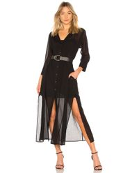 Theory - Weekend Button Down Dress - Lyst