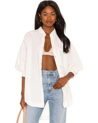 Free People - Cool & Clean ボタンダウン - Lyst