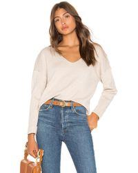 Line & Dot - Vivi Cropped Sweater - Lyst