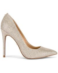 Sam Edelman Danna Heel In Metallic Gold. Size 9.5.