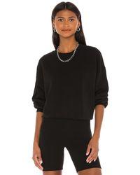 Agolde Balloon Sleeve Sweatshirt - Black