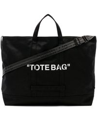 Off-White c/o Virgil Abloh - Quote Tote - Lyst