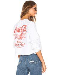 Junk Food - Coca Cola Life Tastes Good Sweatshirt - Lyst