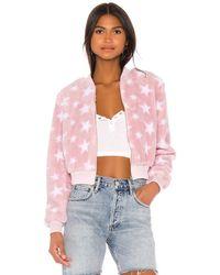 superdown Куртка Star Karolina В Цвете Белый & Розовый - Pink. Размер S (также В M).