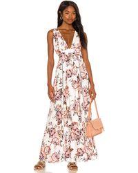 Maaji Rose Glaring Long Dress - White