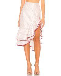 Alexis - Garnet Skirt In Red - Lyst