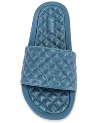 APL Shoes Lusso スライド - ブルー