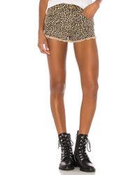 superdown Priya Cut Off Shorts - Braun