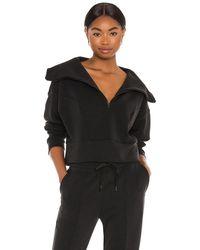 Lanston Пуловер Zip В Цвете Черный