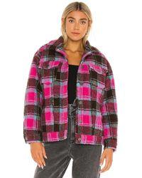 Apparis Куртка Kris В Цвете Ruby Flannel - Розовый