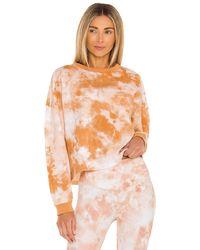 L'urv Solar Mist スウェットシャツ - オレンジ