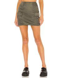 superdown Tanya Cargo Skirt - Grün