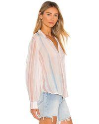 Bella Dahl Capri Button Down Shirt - Multicolour