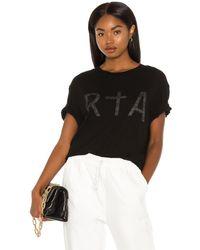 RTA Kendry Tシャツ - ブラック