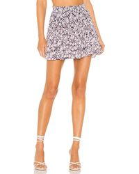 MISA Los Angles X Revolve Marion Skirt - Multicolor