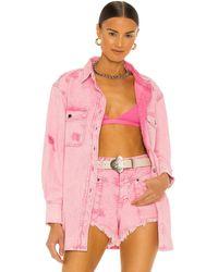 retroféte Camisa doreen - Rosa