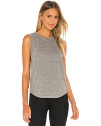 Year Of Ours Perfect Muscle Tank - Gray