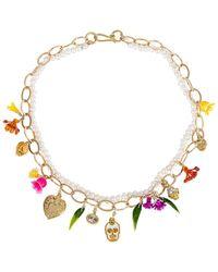 Mercedes Salazar Calaquita Necklace - Metallic