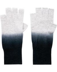 Autumn Cashmere - Dip Dye Fingerless Gloves - Lyst