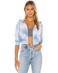 superdown Arielle オーバーサイズスウェットシャツ - ブルー