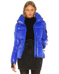 Sam. Freestyle Puffer Jacket - Blue