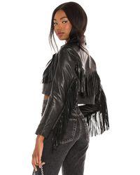 Urban Outfitters Malboro Cropped Blazer - Black
