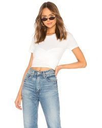 Lovers + Friends Selena Tシャツ - ホワイト