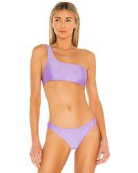 JADE Swim Apex Bikini Top - Multicolor