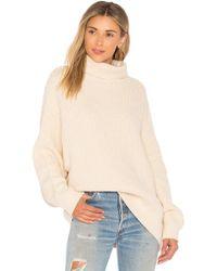 Free People - Swim Too Deep Pullover Sweater - Lyst