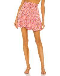 Sabina Musayev Merlot Skirt - Pink