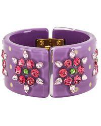 DANNIJO Roxanne Bracelet - Purple