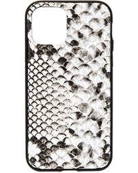 Sonix Gray Python Wallet 11 Pro Case - Grau