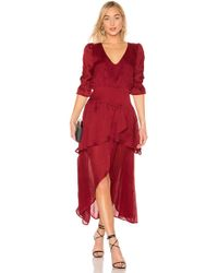 House of Harlow 1960 X REVOLVE Onel Dress - Rot