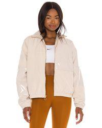 Nike Куртка В Цвете Oatmeal & Light Orewood Brown - Коричневый