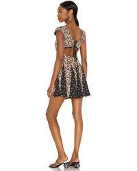 Free People Ponderosa Mini Dress - Schwarz