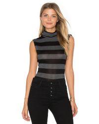 Twenty Luxe Turtleneck Bodysuit - Black