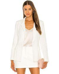 Amanda Uprichard Herald blazer - Blanco