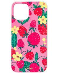 Sonix Чехол Для Iphone Magsafe Antimicrobial В Цвете Shortcake Pink - Многоцветный