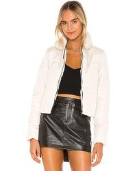 superdown Maisha Puffer Jacket - White