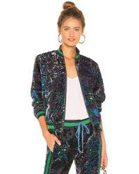 Pam & Gela - Sequin Velour Track Jacket - Lyst