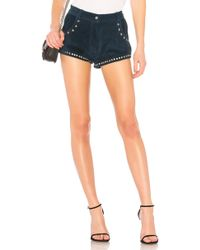 Urban Outfitters - Paris Texas Short In Blue - Lyst