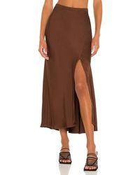 Anine Bing Dolly スカート - ブラウン