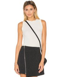 Getting Back to Square One - The Rib Muscle Tank - Lyst