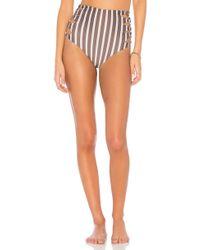 Acacia Swimwear - Humuhumu Triangle Top In Brown - Lyst