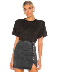 retroféte グラフィックtシャツ - ブラック